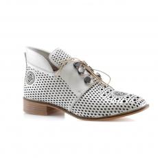 White colour women leisure shoes
