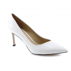 White colour women formal shoes