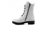 Baltos spalvos moteriški žieminiai batai