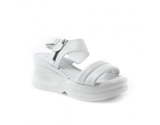 Baltos spalvos moteriškos basutės