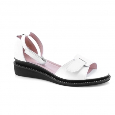 White colour Women sandals