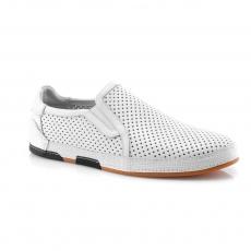 White colour men open shoes