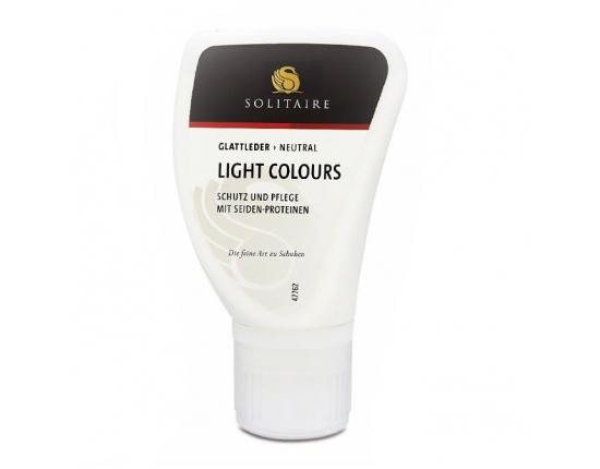 Losjonas šviesiai, pastelinių spalvų odai Light colours