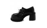 Juodos spalvos moteriški bateliai