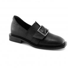 Black colour women court shoes