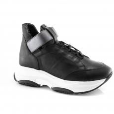 Black colour women leisure shoes