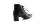 Black colour women leisure shoes