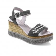 Black colour Women sandals