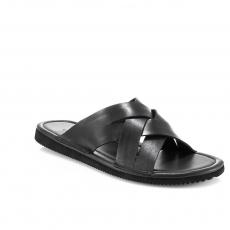 Black colour Men sandals