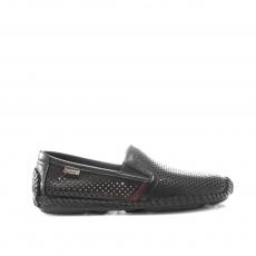 Black colour men open shoes