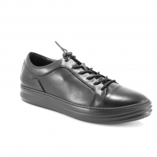 Black colour men  leisure style shoes