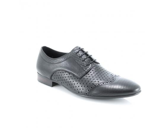 Juodos spalvos vyriški atviri batai
