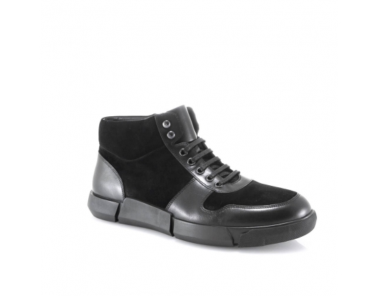 Juodos spalvos vyriški  žieminiai nepašiltinti batai
