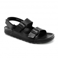 Black colour Men sandals