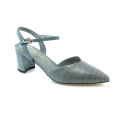 Blue colour women open shoes