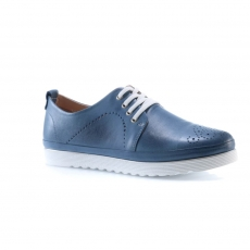 Blue colour women court shoes