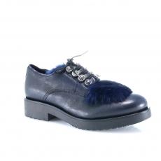 Blue colour women court shoes
