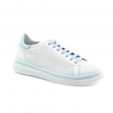 Blue colour women leisure shoes