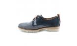 Mėlynos spalvos moteriški laisvalaikio bateliai