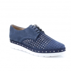 Blue colour women leisure shoes