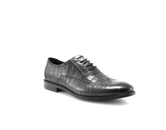 Mėlynos spalvos vyriški  klasikiniai batai