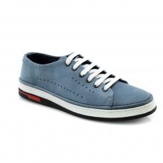 Blue colour men  moccasins