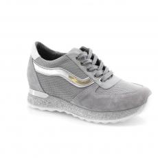 Grey colour women court shoes