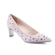 Grey colour women court shoes