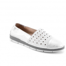 Grey colour women leisure shoes