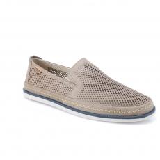 Grey colour men open shoes