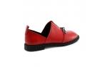 Raudonos spalvos moteriški bateliai