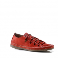 Red colour women leisure shoes