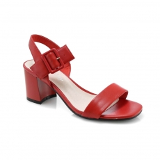 Red colour Women sandals