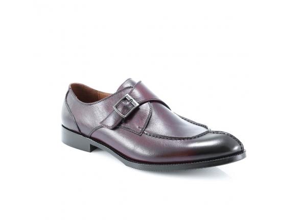 красные  мужские  классические ботинки