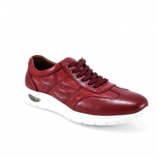 Red colour men  moccasins