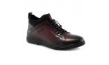 Raudonos spalvos vyriški  rudeniniai pašiltinti batai