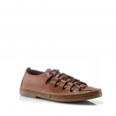 Brown colour women leisure shoes