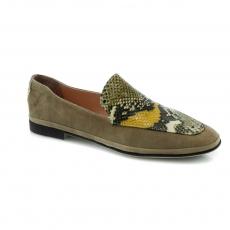Brown colour women leisure shoes