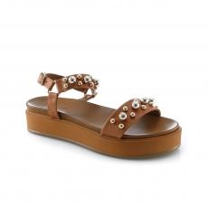 Brown colour Women sandals