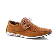 Rudos spalvos vyriški atviri batai