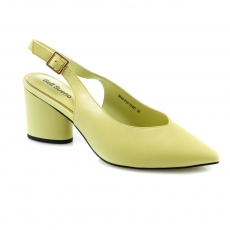 Green colour women open shoes