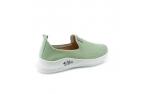 Žalios spalvos moteriški laisvalaikio bateliai
