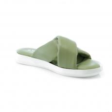 Green colour Women sandals